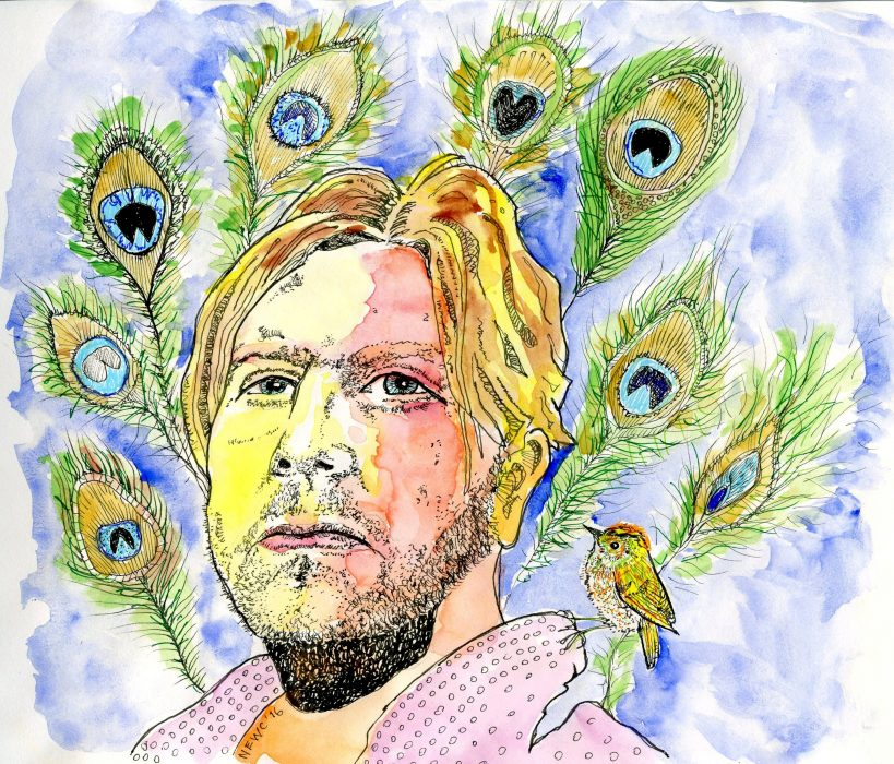 self_portrait-_with_peacock_plumes